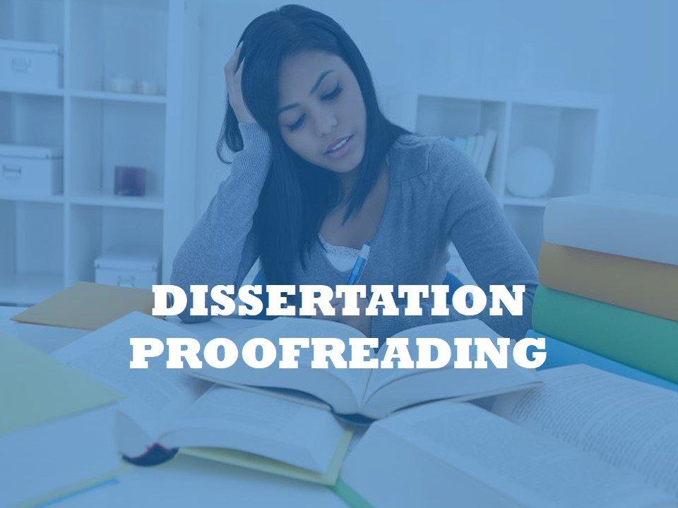 Dissertation revision center