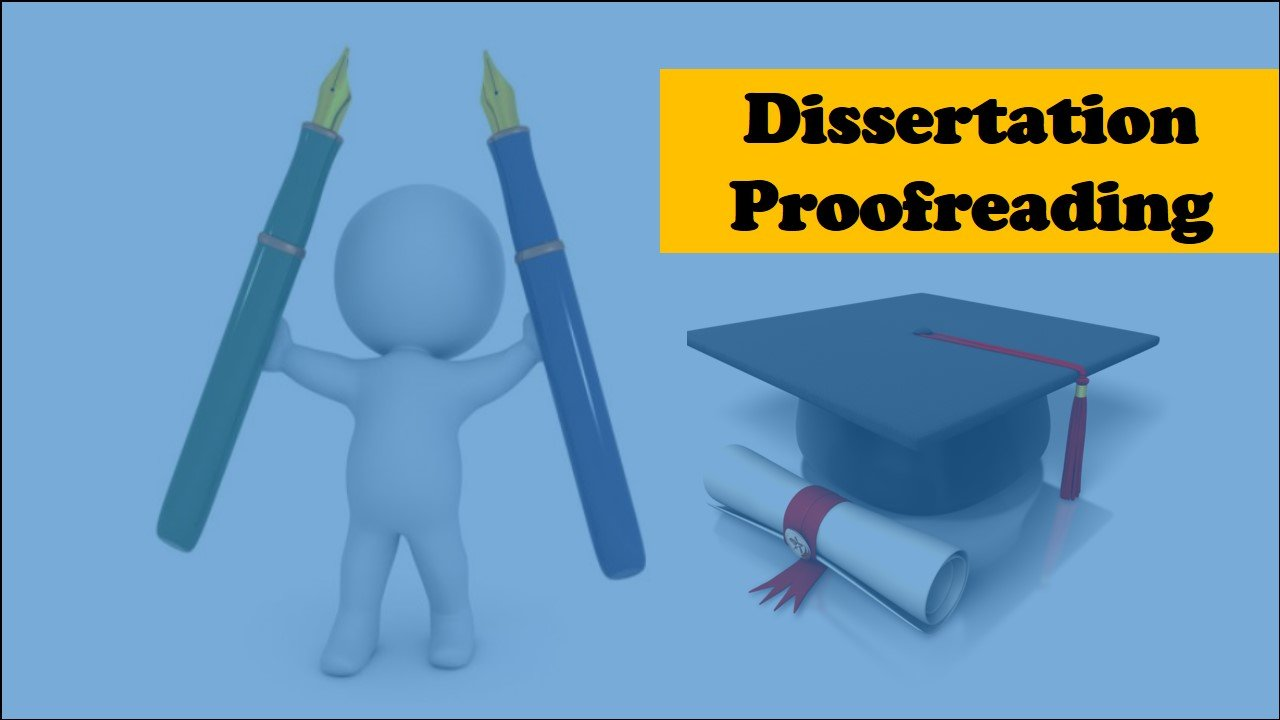 What is a dissertation proofreading service?