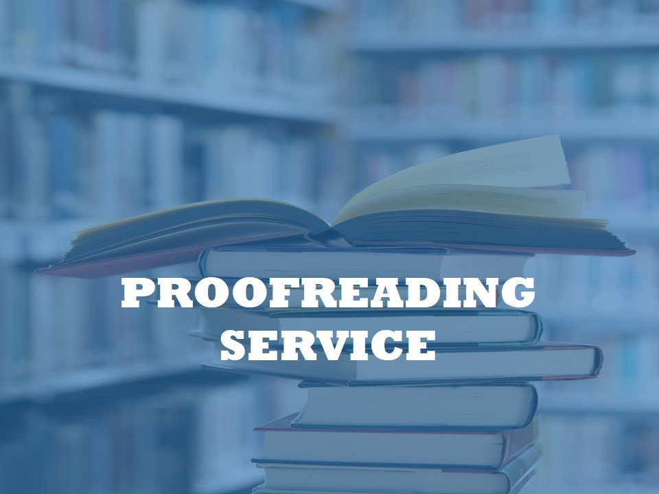 a service for proofreading academic papers