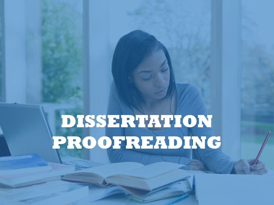 A service for proofreading PhD program dissertations