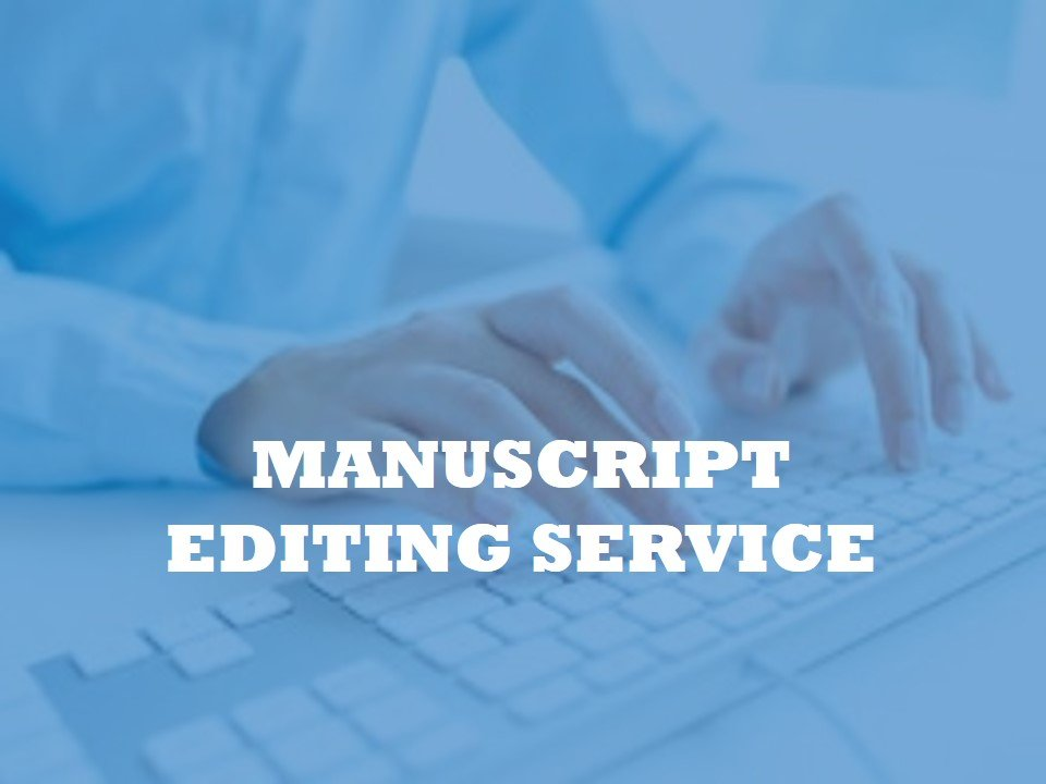 Editing service before submitting your manuscript