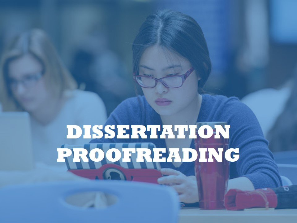 Improving Manuscript by Dissertation proofreading