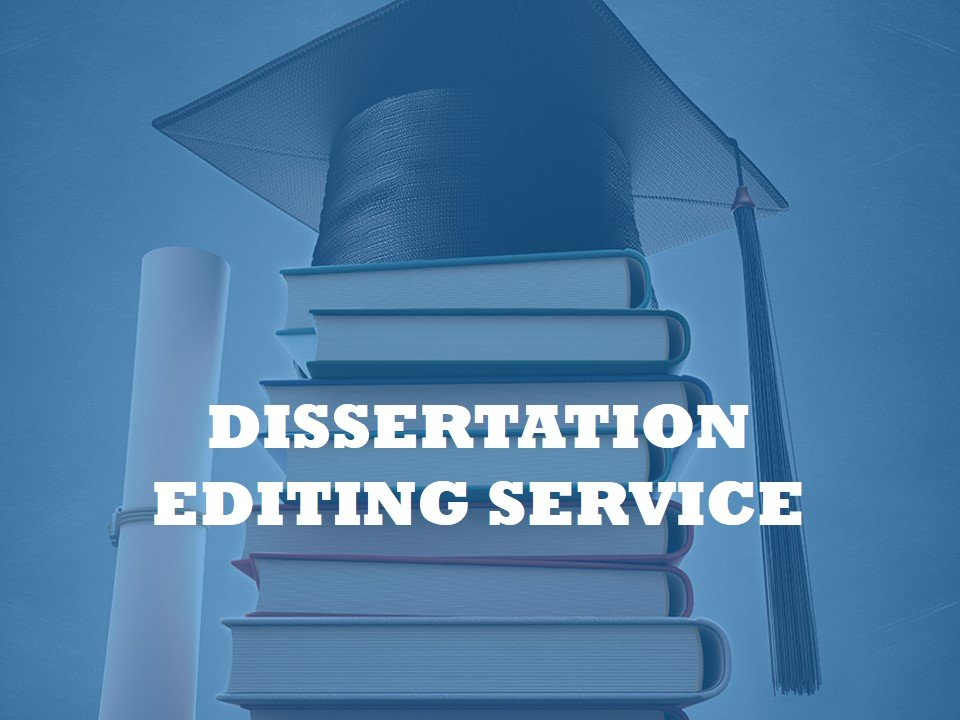 A service for editing dissertations from all fields
