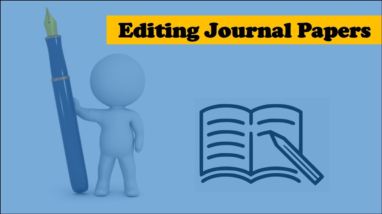 What is a journal paper editing service?