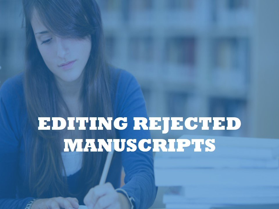 To get a second opinion on rejected papers