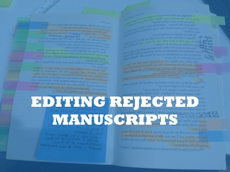 a service for editing rejected manuscripts