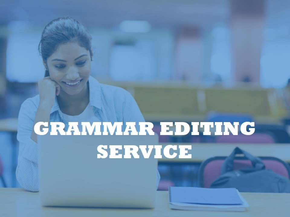 Fixing Paper by English grammar editing