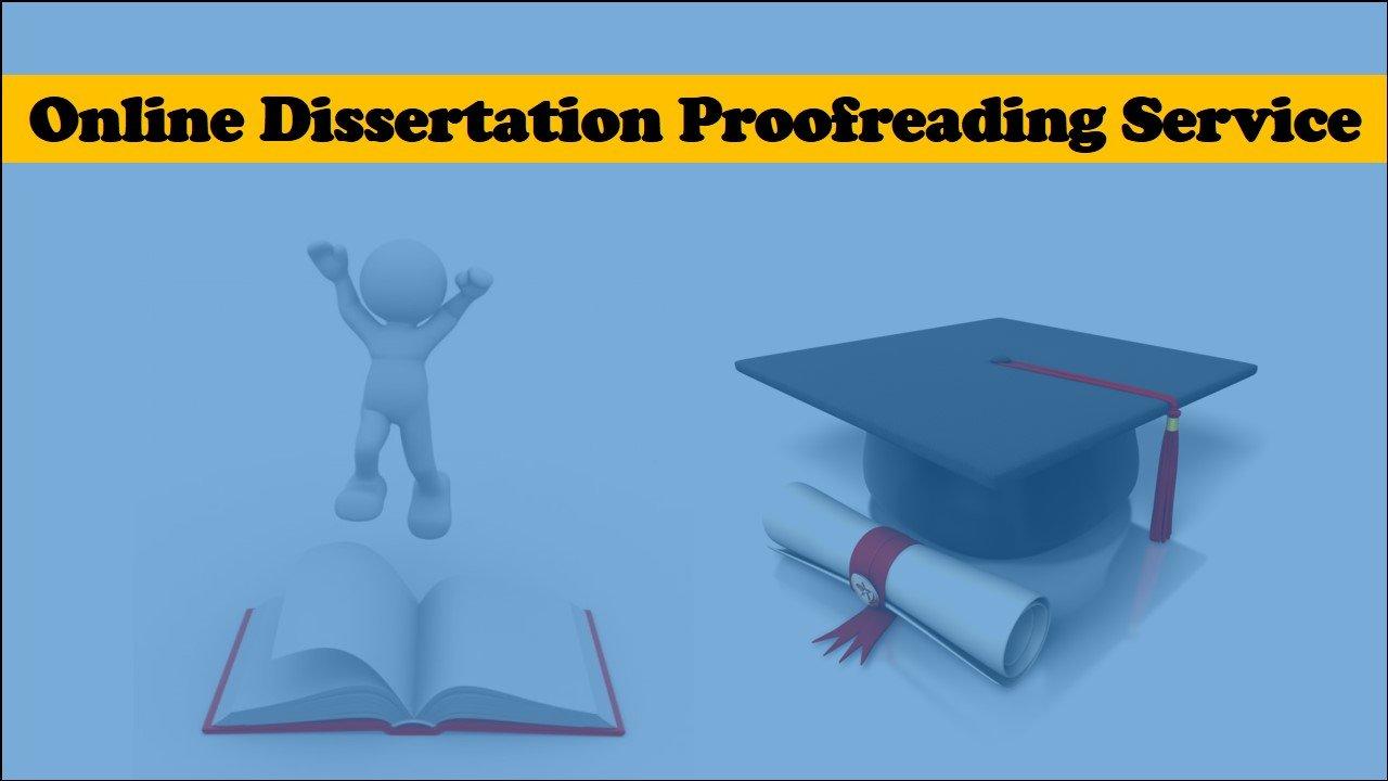 Online dissertation proofreading service
