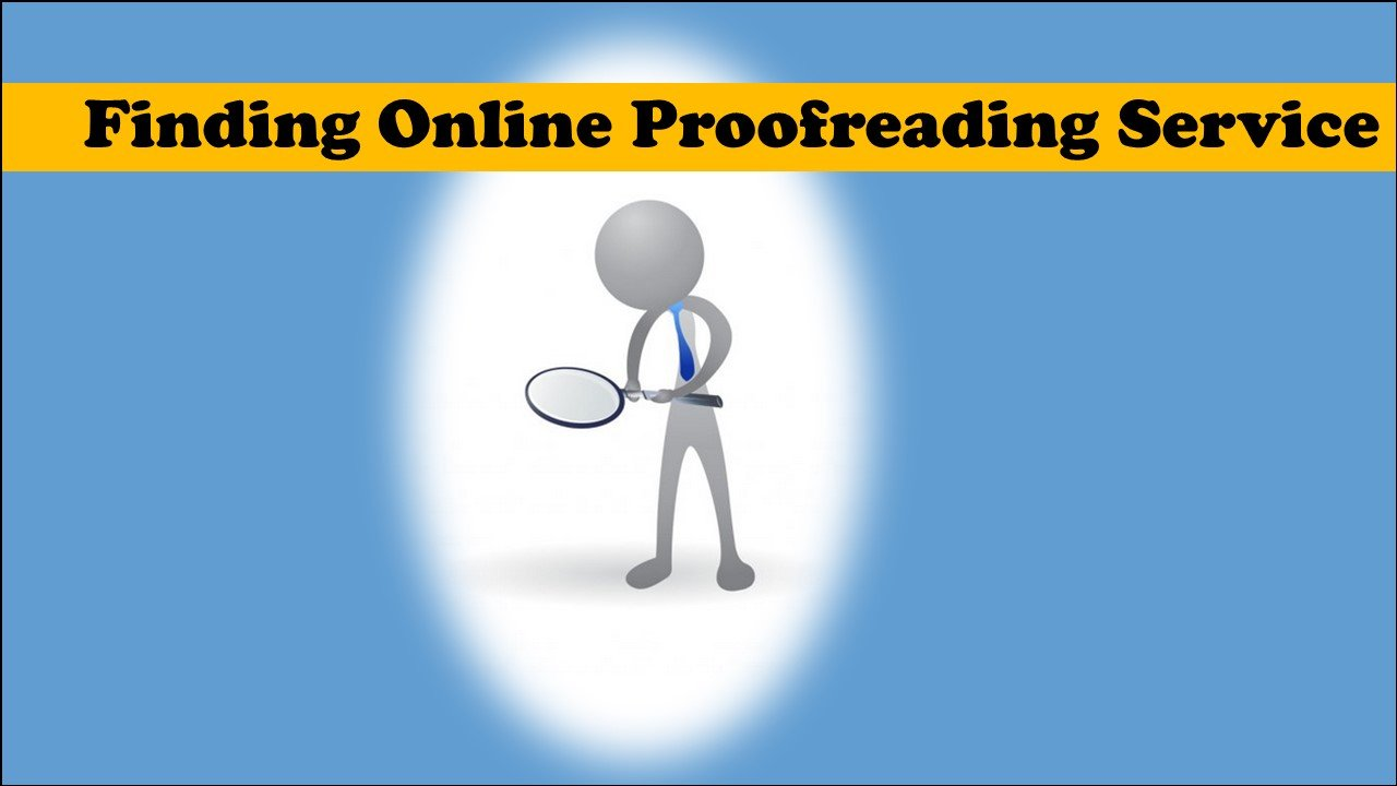 Where to find a proofreading service