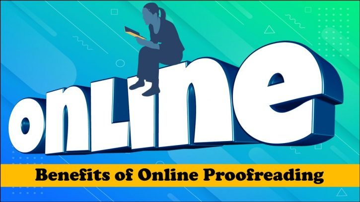 Benefits of online proofreading