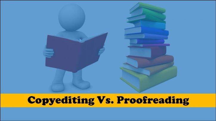 copyediting vs. proofreading