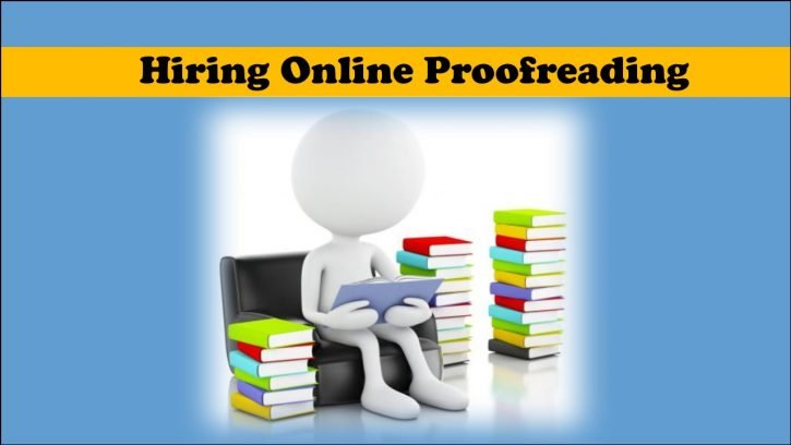 Hire online proofreading and editing