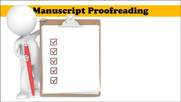 Hiring Manuscript Proofreading
