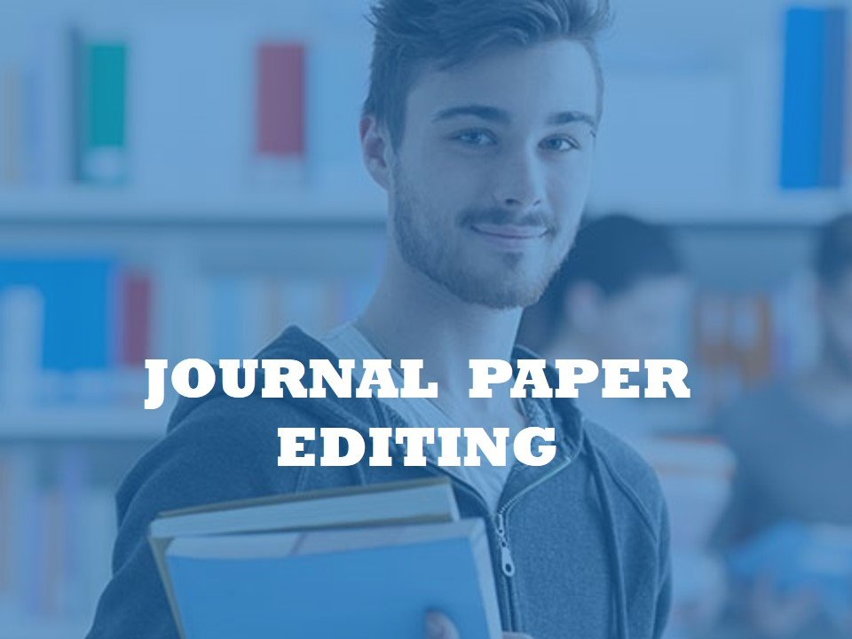 An editorial team for editing papers for journal submission
