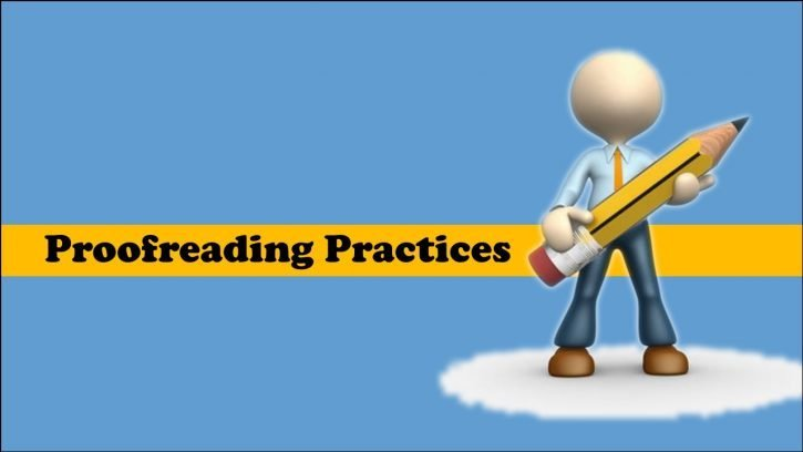 best practices for proofreading