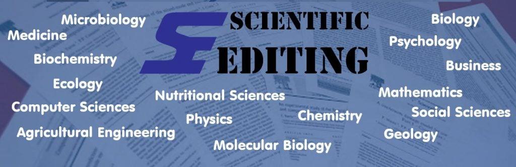 Our editors for Scientific Editing
