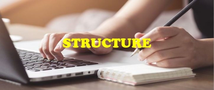 IMPROVING THE WRITING STRUCTURE