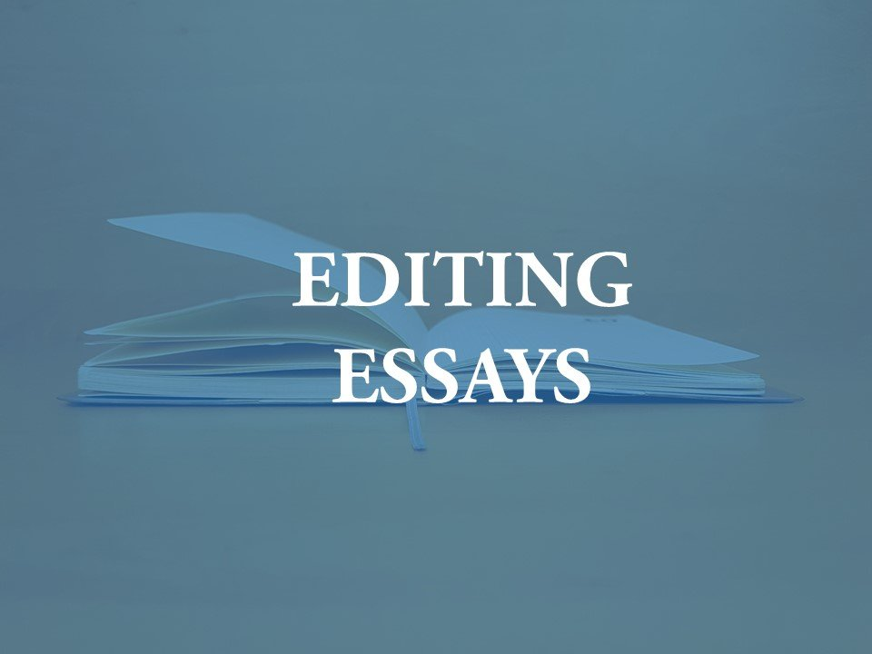 A new facility for editing essays