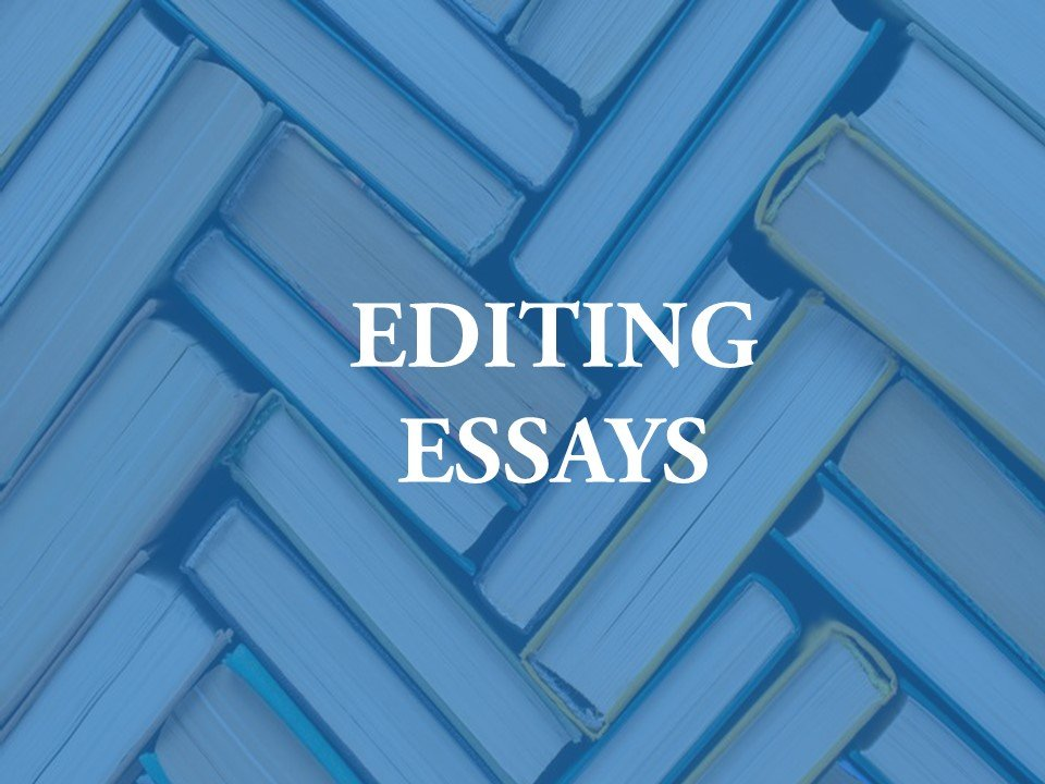 Providing assistance for essay editing