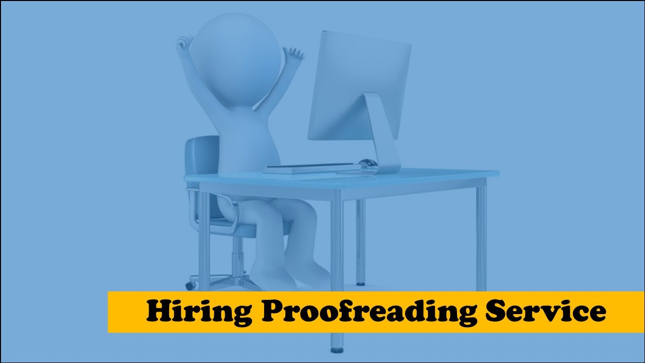 hire an English proofreading service