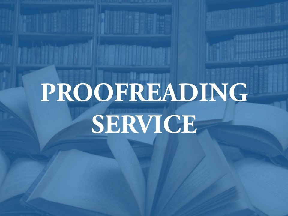 A new facility for proofreading
