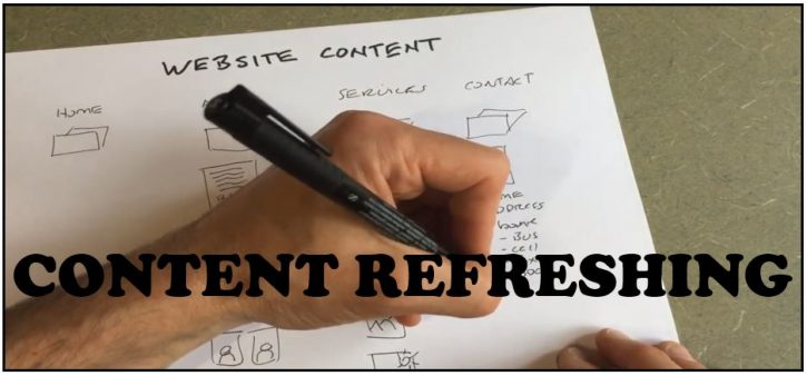 CONTENT REFRESHING