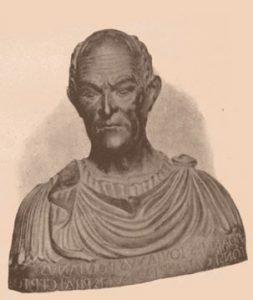 Statue of Giovanni Pontano