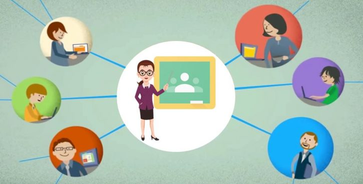Google classroom communication