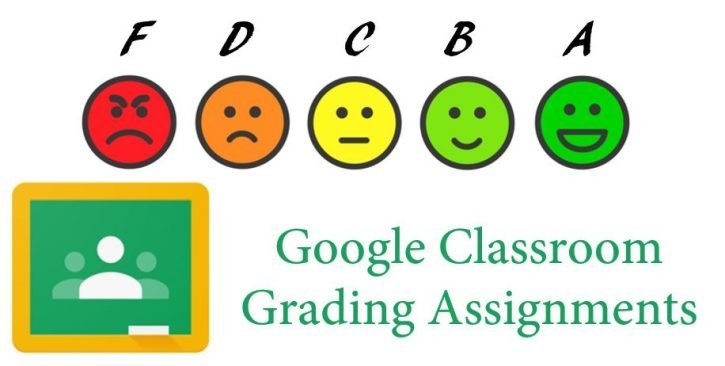 Grading in Google classroom