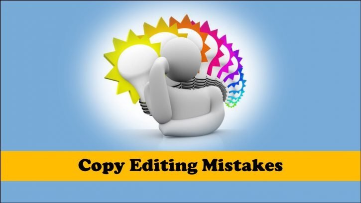 Common copy editing mistakes