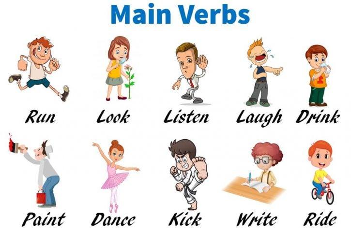Main verbs