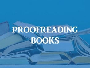 Book proofreading service