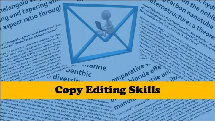 Skills required for copy editing