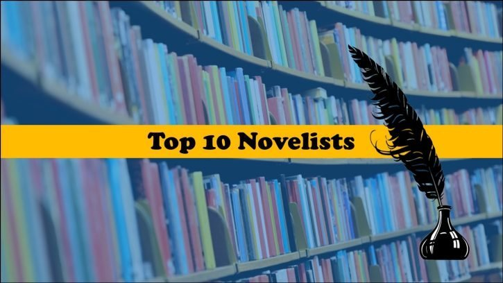Top 10 best novelists of all time