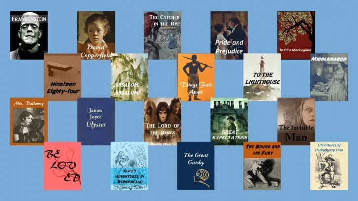 Top 20 greatest books of all the time