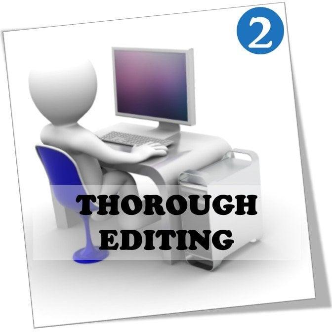 thorough article editing